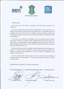 INVITACION DIDA DEL TURISTA 2014