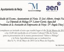 Si alguna empresa Nerjeña de transformación agroalimentaria desea participar en la Feria a celebrar los días 8-9 y 10 de Mayo 2015, rogamos nos lo comunique.