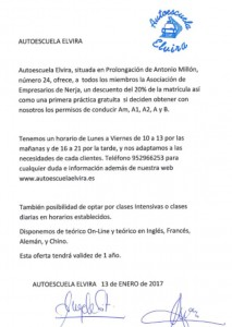 convenio autoescuela elvira 13-01-17