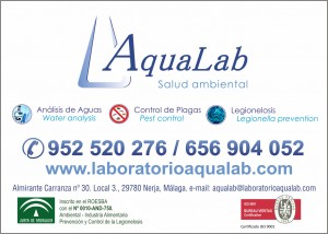 Aqualab convenio aen - aqualab 2017