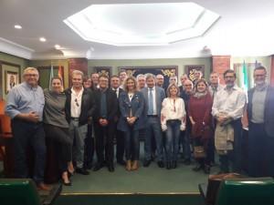 reunion alcaldesa y junta directiva aen 23-04-18