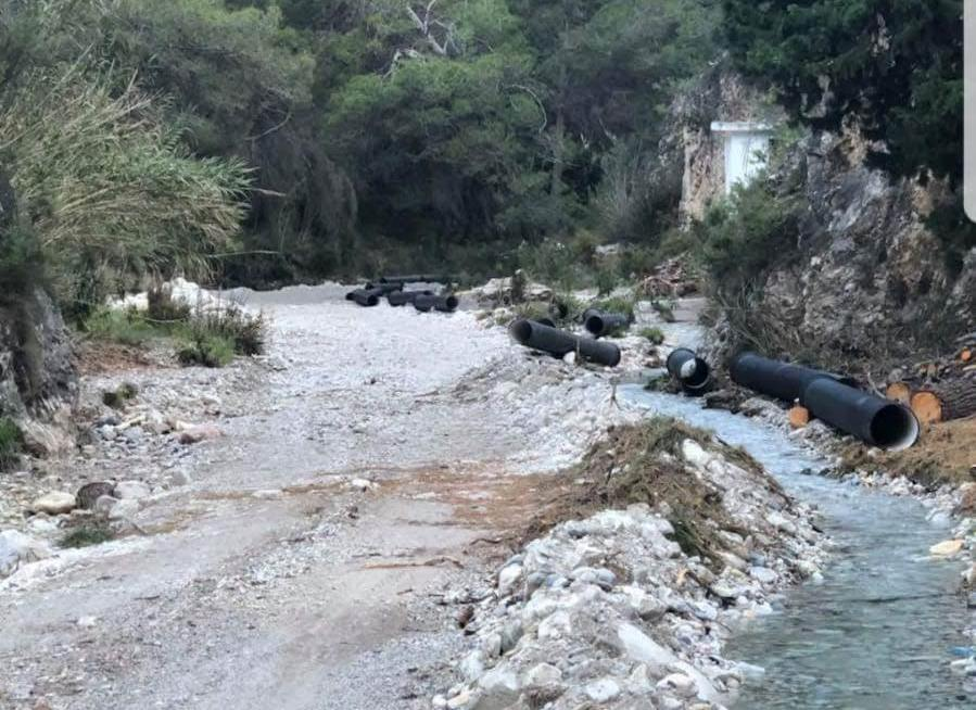 obras rio chillar trasvase